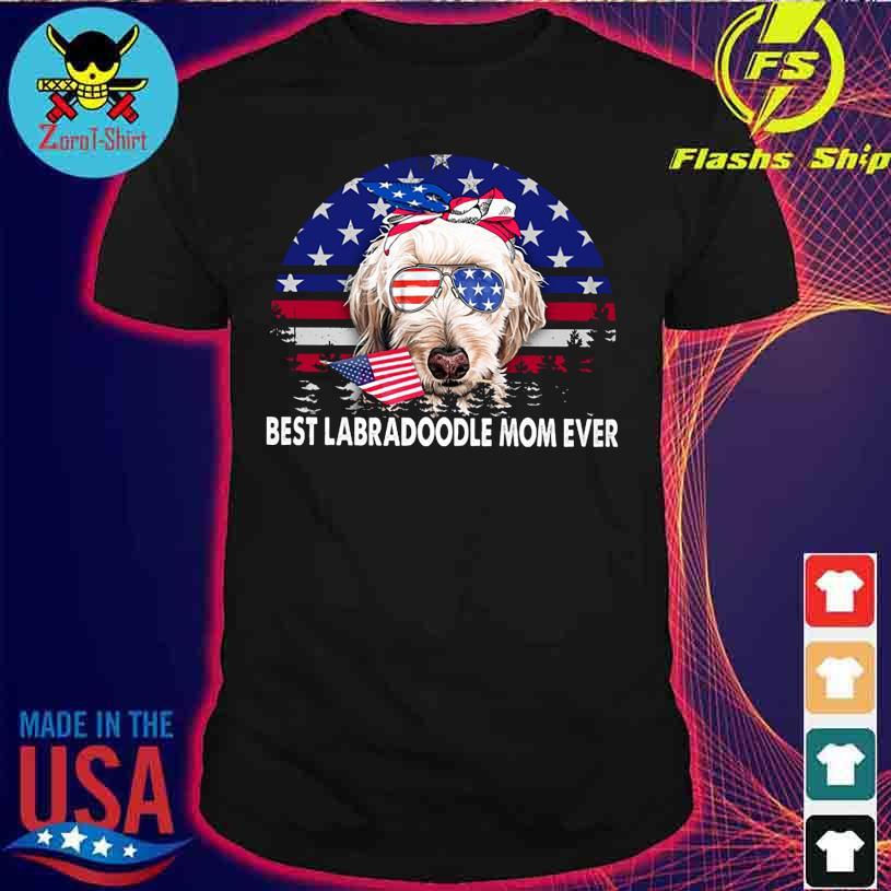 Best Labradoodle Mom ever vintage America shirt