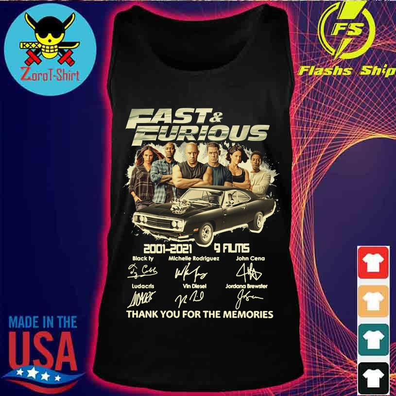 Official Fast And Furious 2001 2021 9 Films Black Ty Michelle Rodriguez Signatures Shirt Hoodie Sweater Long Sleeve And Tank Top