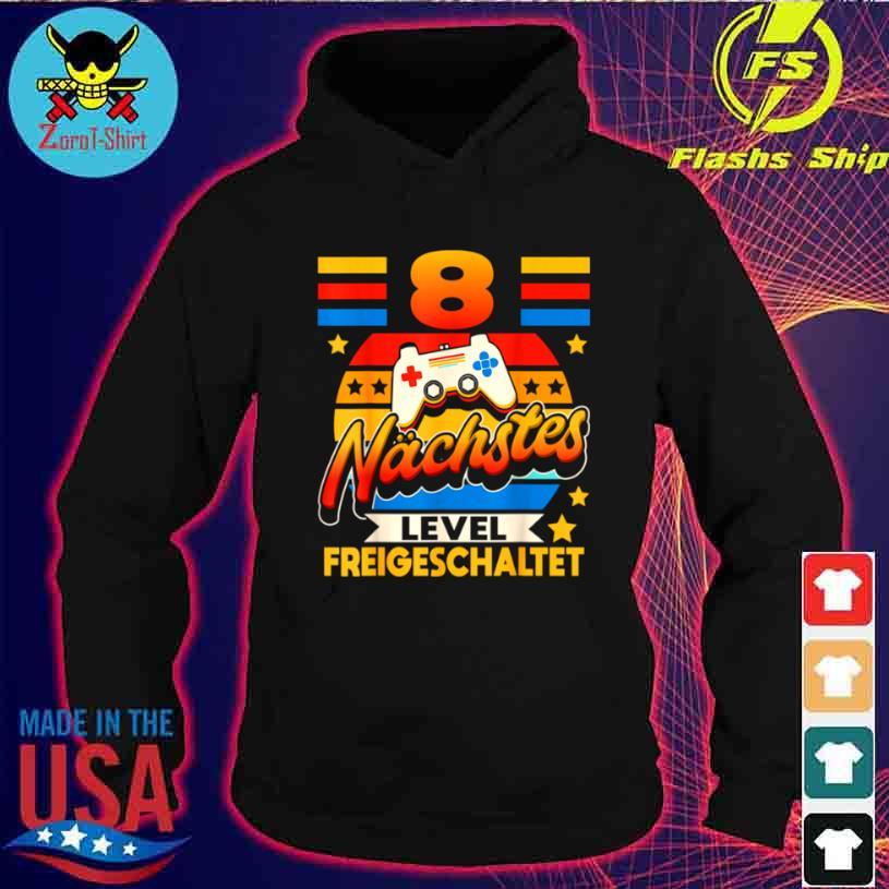 Achter Geburtstag Junge 8 Jahre Alt Achtjähriger Gamer Shirt hoodie