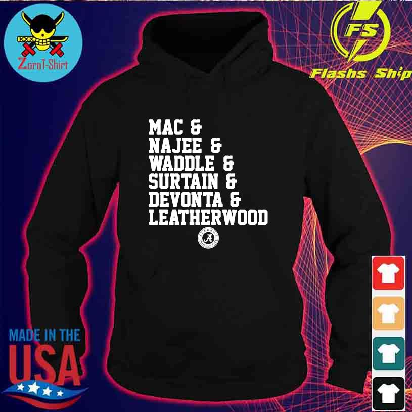 Alabama Crimson tide Mac Najee Middle Surtain Devonta Leatherwood s hoodie
