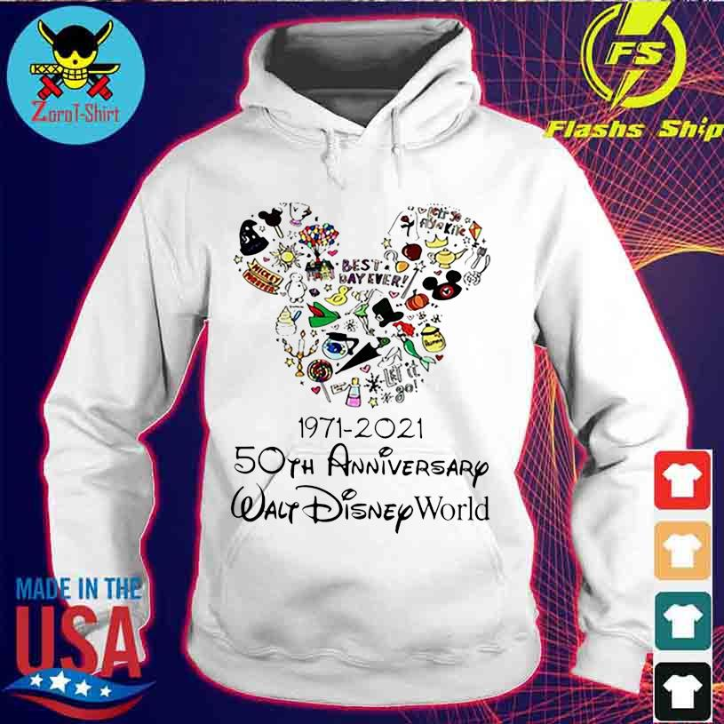 Best Day ever 1971 2021 50TH Anniversary Walt Disney World s hoodie