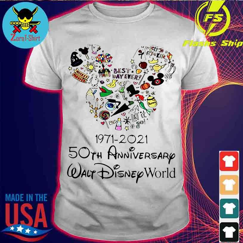 Best Day ever 1971 2021 50TH Anniversary Walt Disney World shirt