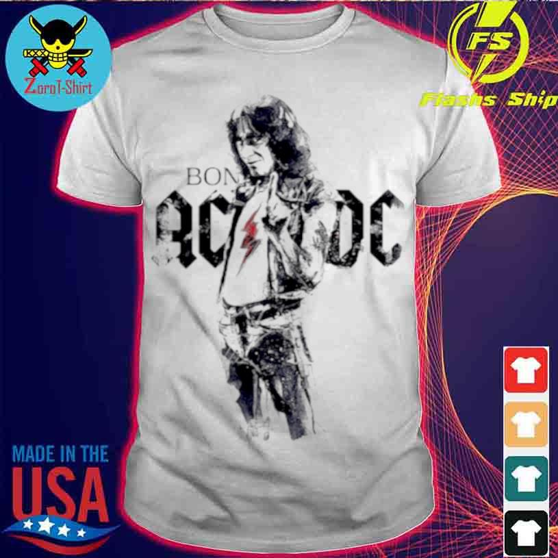 Bon Scott Legend Music AC DC Shirt