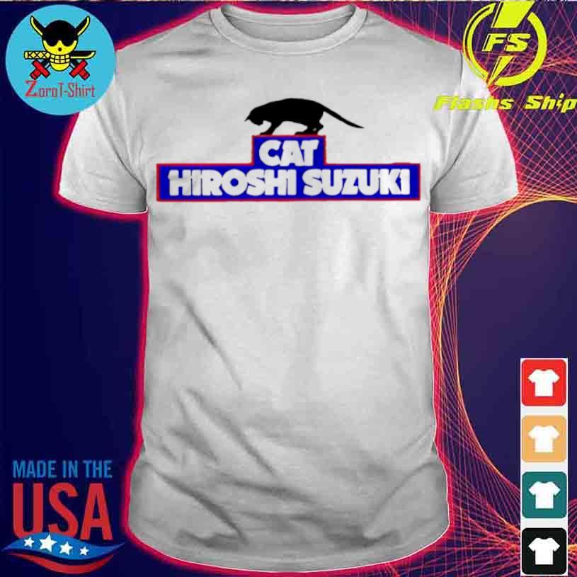 Cat Hiroshi Suzuki Shirt